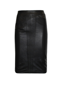 Little Joe River Leather Skirt