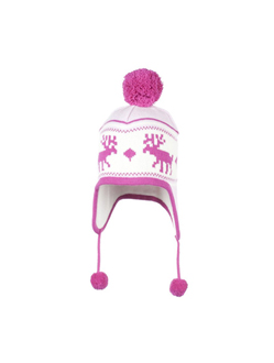 Girls ski hat, girls ski beanie